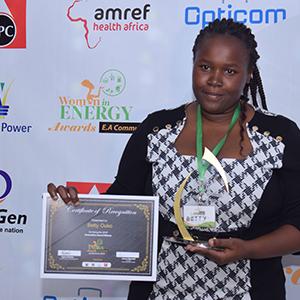 Betty Ouko innovation winner 2019`