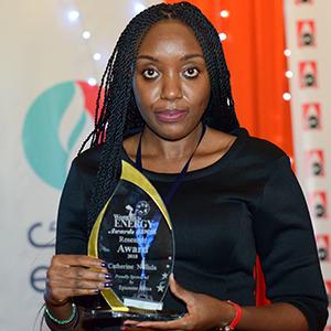 Catherine Ndinda - Research1 Award