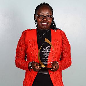 Irene Ronoh - Student Award1 winner